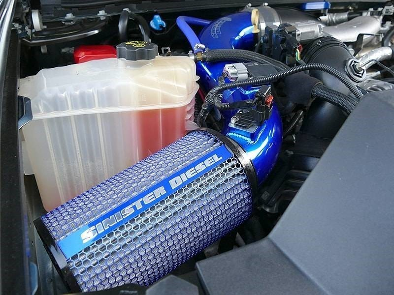 SD-CAI-LML-13 - Sinister Diesel's Cold Air Intake for 2013-2016 GM Duramax 6.6L LML diesels