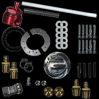 "STK-5500 - FASS Fuel Sump w/ Bulkhead Suction Tube Kit ""No-Drop"""