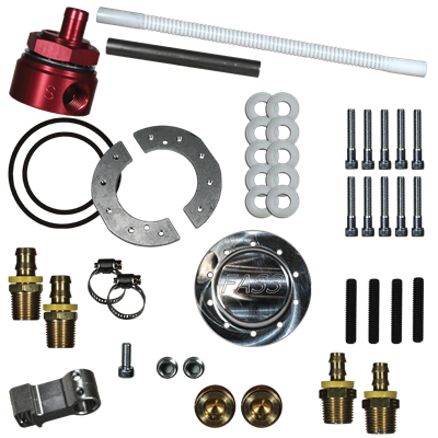 "STK-5500 - FASS Fuel Sump w/ Bulkhead Suction Tube Kit ""No-Drop"""