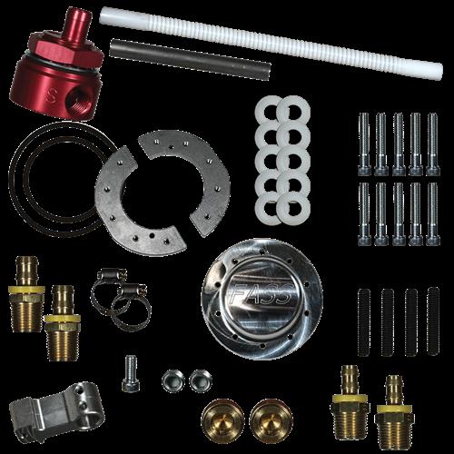 FASS Fuel Sump w/ Bulkhead Suction Tube Kit