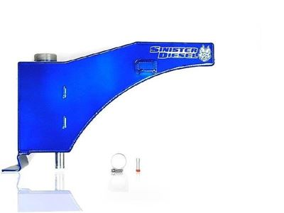 SD-DEGAS-7.3 - Sinister Diesel's Coolant Overflow Tank for 1999-2003 Ford Powerstroke 7.3L diesels