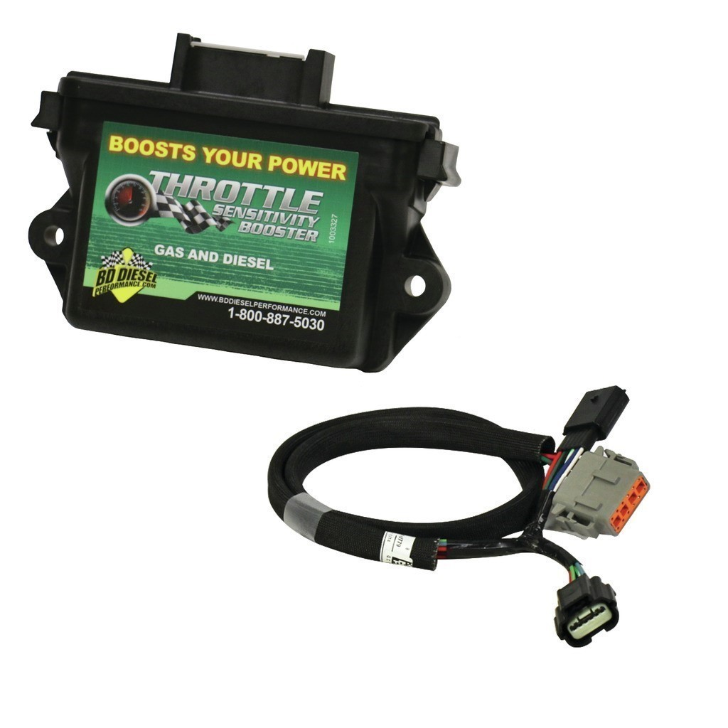 1057781 - BD Throttle Sensitivity Booster w/ Switch - Dodge 2005-2006