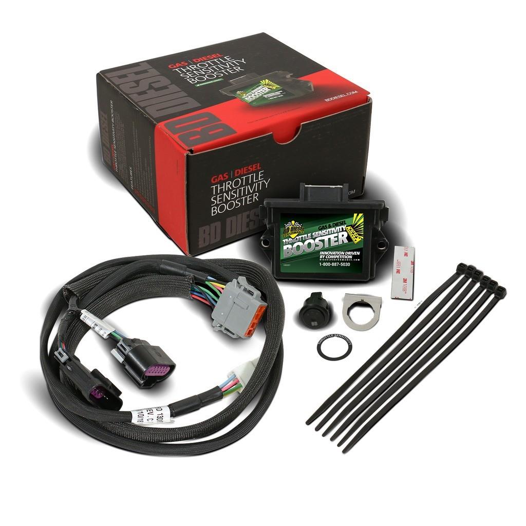 1057837 - BD Throttle Sensitivity Booster w/ Switch - GM Duramax 2007-2018 LMM LML L5P