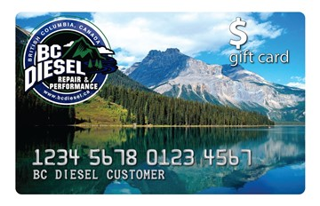 BC Diesel Gift Card - Name Your Price