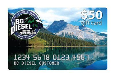 BCDGC-50 - $50 BC Diesel Gift Card