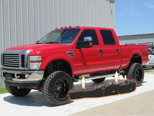 7020308 - Titan 67 Gallon Fuel Tank for 2008-2010 Ford Powerstroke 6.4L CC/LB
