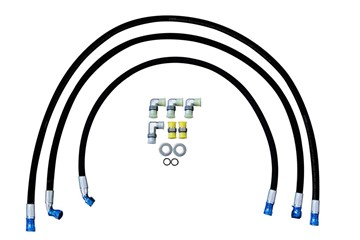 75411 - DRP 1/2-inch cooler lines for 2015-16 GM Duramax LML diesels