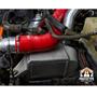 MMINT-F2D-11K - Mishimoto's Heavy Duty Intercooler Assembly for 2011-2016 Ford Powerstroke 6.7L diesel trucks - Installed View