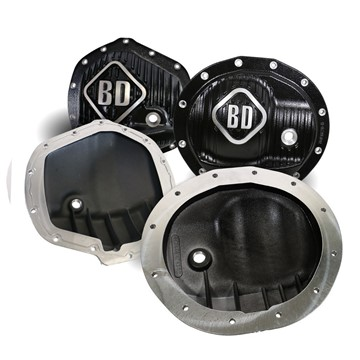 1061829 - BD Differential Cover Pack - Front AA14-9.25 / Rear AA14-11.5 - Dodge 2013-2018