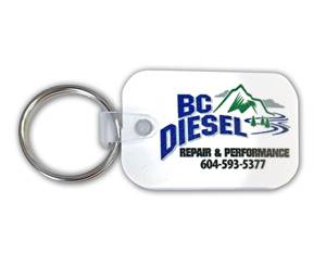 Picture of BC Diesel White Keychain