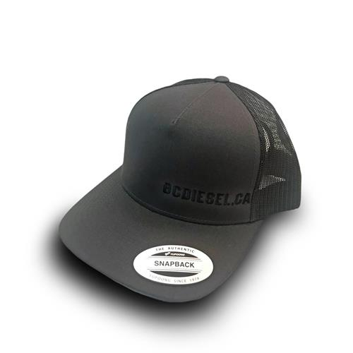 Picture of BC Diesel One Size SnapBack Ball Cap - Charcoal & Black