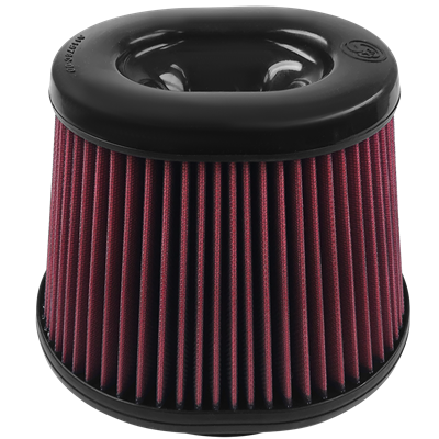 Picture of S&B Cold Air Intake Replacement Filter - Oiled - Ford 2008-2010 (OVAL)
