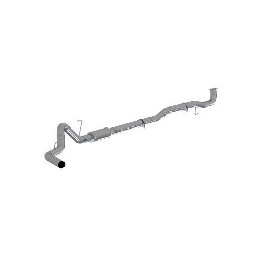 "Image de P1 Race Parts 4"" Down Pipe Back Exhaust - Aluminized WM/NT GM 2017-2019 L5P"