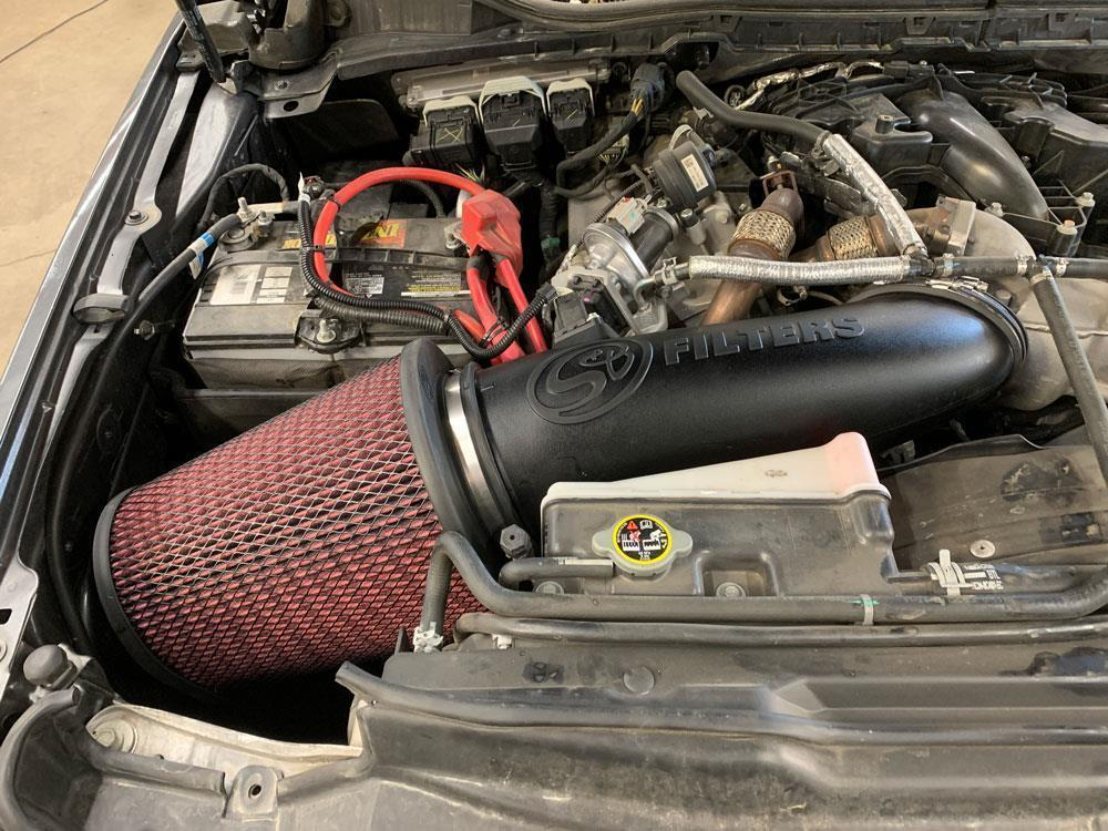 Picture of S&B Open Air Intake System - Dry - Ford 2017-2019