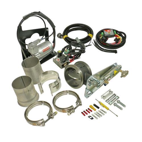 "Image de BD Exhaust Brake Kit - Remote Mount w/ 4"" Exhaust- Dodge 2003-2005"