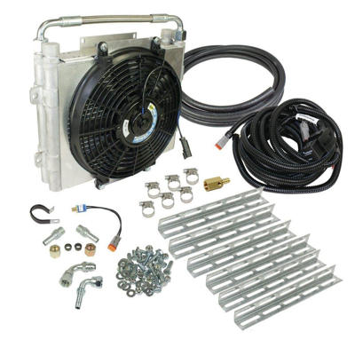 Picture of BD Diesel Double Stacked Xtruded Auxiliary Transmission Cooler Kit - Dodge 1994-2016 / Ford 2003-2016