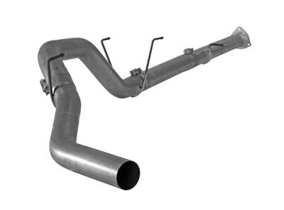 "Image de Flo-Pro 4"" Down Pipe Back Exhaust - Stainless NM Dodge 2013-2018 RC-QC-MC/SB-LB"