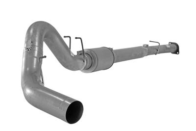 "Image de Flo-Pro 4"" Down Pipe Back Exhaust - Aluminized Ford 2008-2010"