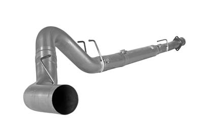 "Picture of Flo-Pro 4"" Down Pipe Back Exhaust - Stainless NM Ford 2008-2010"