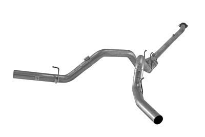"Picture of Flo-Pro 4"" Down Pipe Back Dual Exhaust - Stainless NM Ford 2011-2019 Auto Trans"