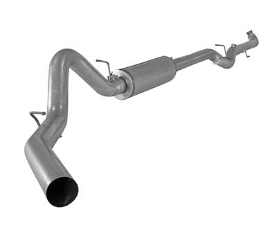 "Picture of Flo-Pro 4"" Down Pipe Back Exhaust - Stainless GM 2001-2007"