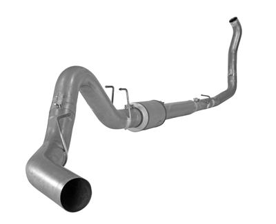 """Picture of Flo-Pro 4"""" Turbo Back Exhaust - Stainless Ford 2008-2010 EC-CC/SB-LB - Auto Trans"""