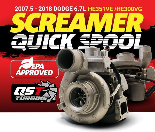 Picture of BD Screamer Performance HE351 Turbocharger - Dodge 2007.5-2012