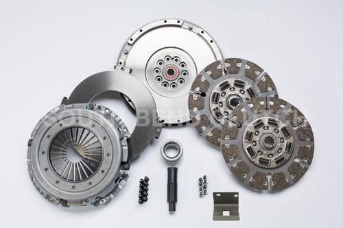 Image de South Bend Clutch & Flywheel - 550HP 1100lbs-ft Dual Disc FULL Organic - Ford 2004-2007 ZF-6