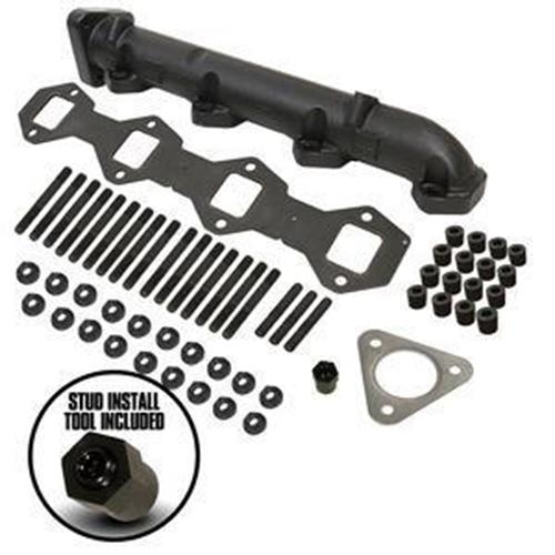 Image de BD Diesel Mighty Exhaust Manifold Drivers Side - Ford 2011-2016