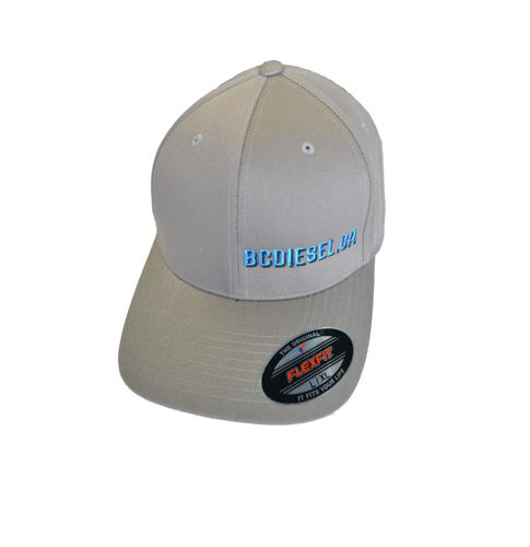 Picture of BC Diesel Classic Flexfit Grey Ballcap Hat