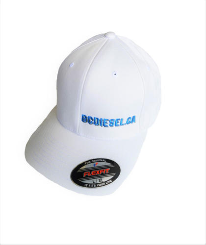 Picture of BC Diesel Classic Flexfit White Ballcap Hat
