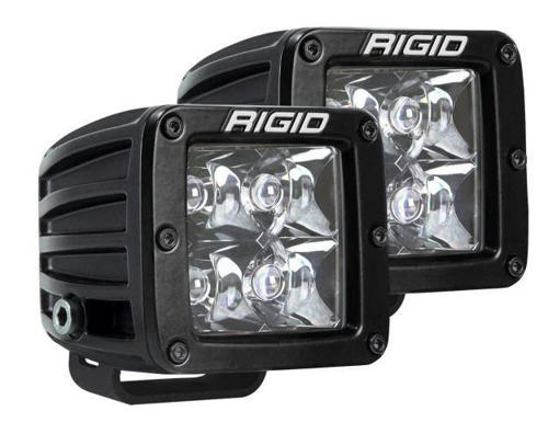 Picture of Rigid Industries D-Series Pro Spot Surface Mount Black