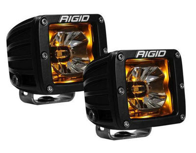 Picture of Rigid Industries Radiance Amber Pod Blackout
