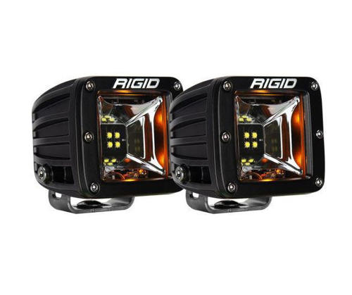 Picture of Rigid Industries Radiance Scene Amber Backlight Surface Mount Pair