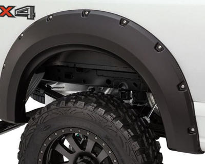 Picture of Bushwacker Pocket Style Flares - 2017-2021 Ford F250/350