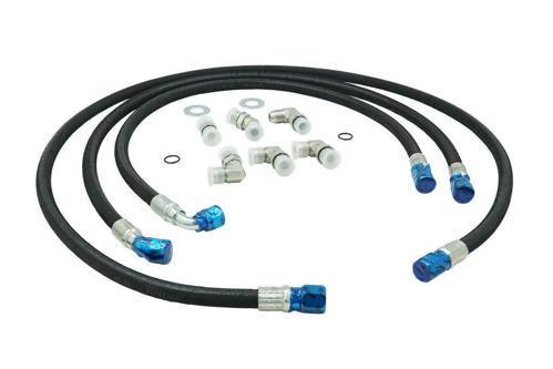 73411 - Deviant Transmission Cooler Lines - 1/2-inch Lines - GM Duramax 2001-05 LB7