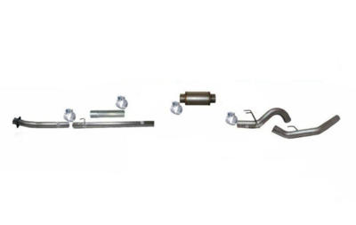 """Picture of Flo-Pro 4"""" Down Pipe Back Exhaust - Stainless Steel  Ford 2020 Auto Trans"""