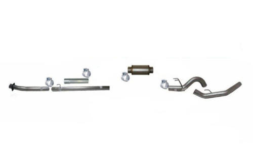"Image de Flo-Pro 4"" Down Pipe Back Exhaust - Stainless Steel  Ford 2020 Auto Trans"