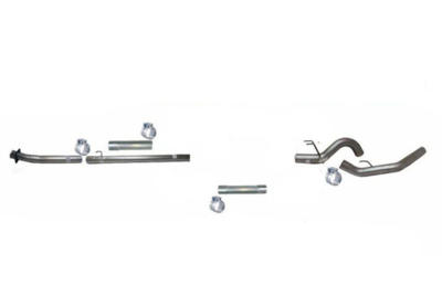 """Picture of Flo-Pro 4"""" Down Pipe Back Exhaust - Stainless Ford 2020 Auto Trans"""