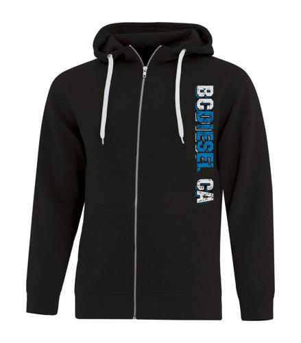 Picture of BC Diesel Zip-up Hoodie - Mens & Ladies
