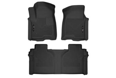 Picture of Husky Front Mats - Front & 2nd Seats- GM 2020-2021 2500hd/3500 Crew Cab