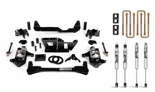 "Image de Cognito 4"" Standard Lift Kit w/Fox IFP Shocks - Silverado/Sierra - 2001-2010 2WD/4WD"