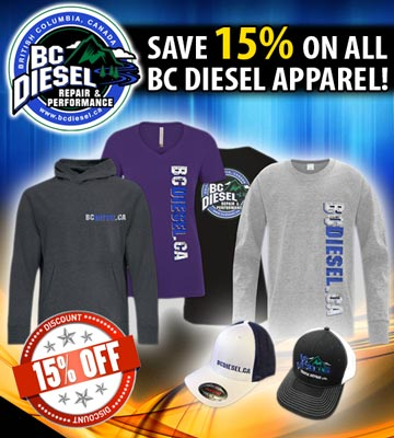 BC Diesel's Apparel Sale
