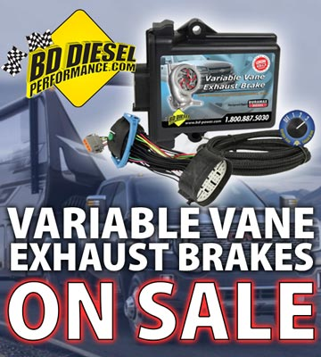 BD Diesel Variable Vane Brakes on Sale!