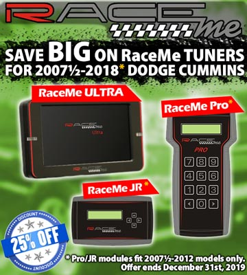 RaceMe Tuners Fall Sale!