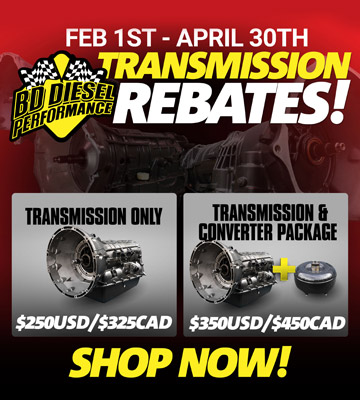 BD Transmission Rebates