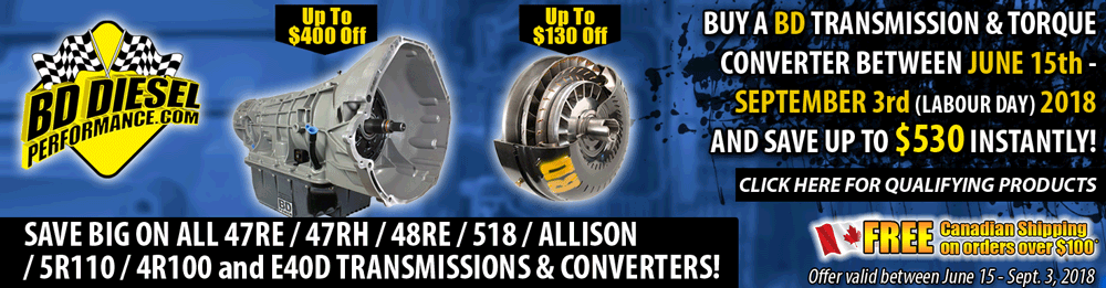BD Transmission and Torque Convertor Sale